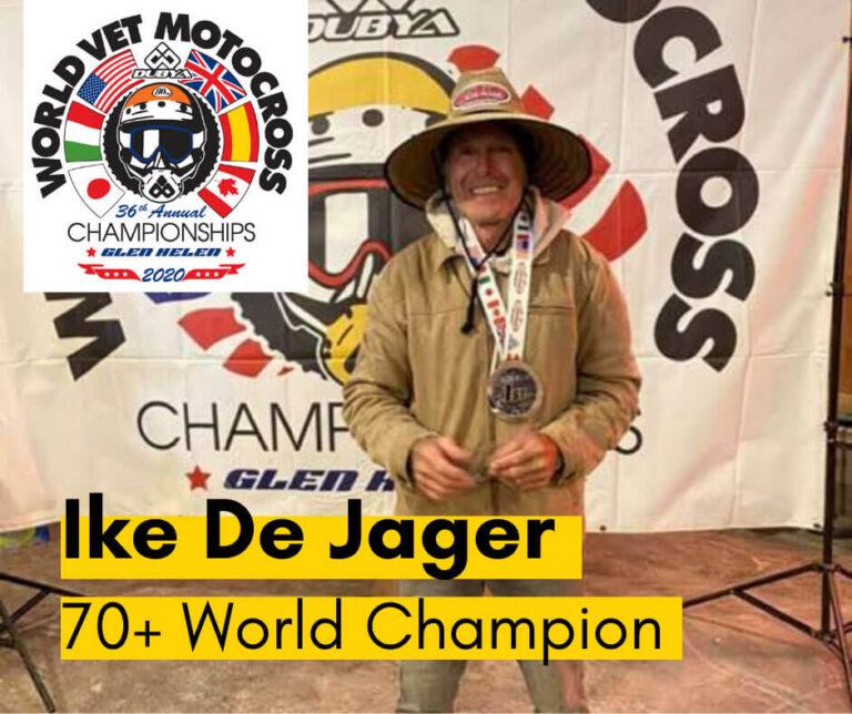 Ike De Jager World Vet Image