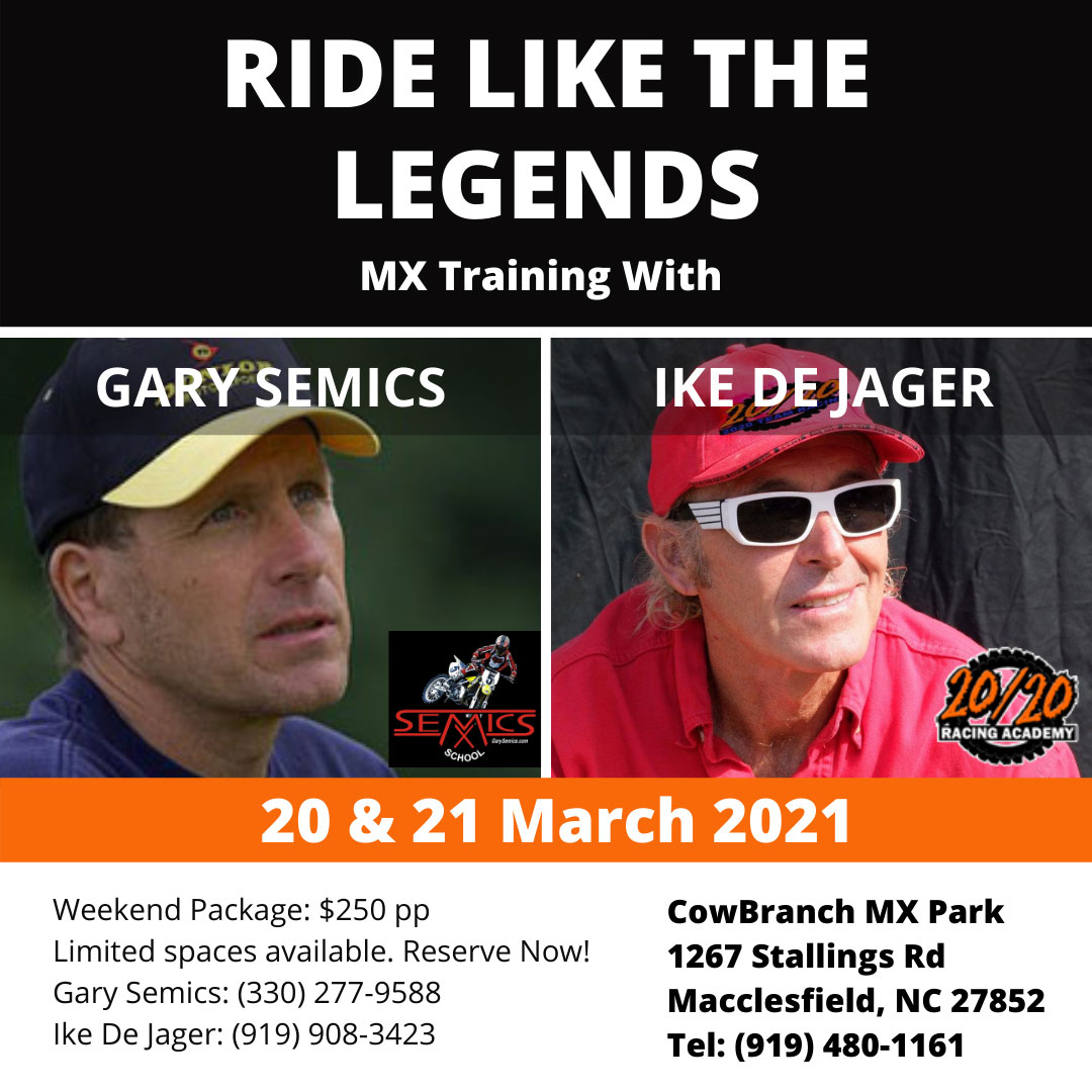 Ride Like The Legends